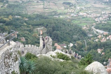 The Moorish ruins of Sintra